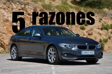 5 razones para comprar un BMW Serie 4 Gran Coupé antes que un Serie 3
