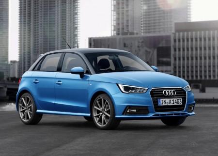 Audi A1 2015, pequeños cambios en diseño y nuevos motores de tres cilindros