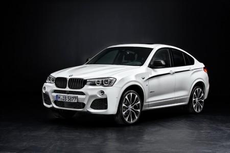 Los nuevos BMW X3 y X4 reciben la línea de accesorios BMW M Performance