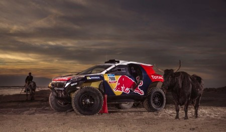 Así se ve el Peugeot 2008 DKR para el Dakar 2015