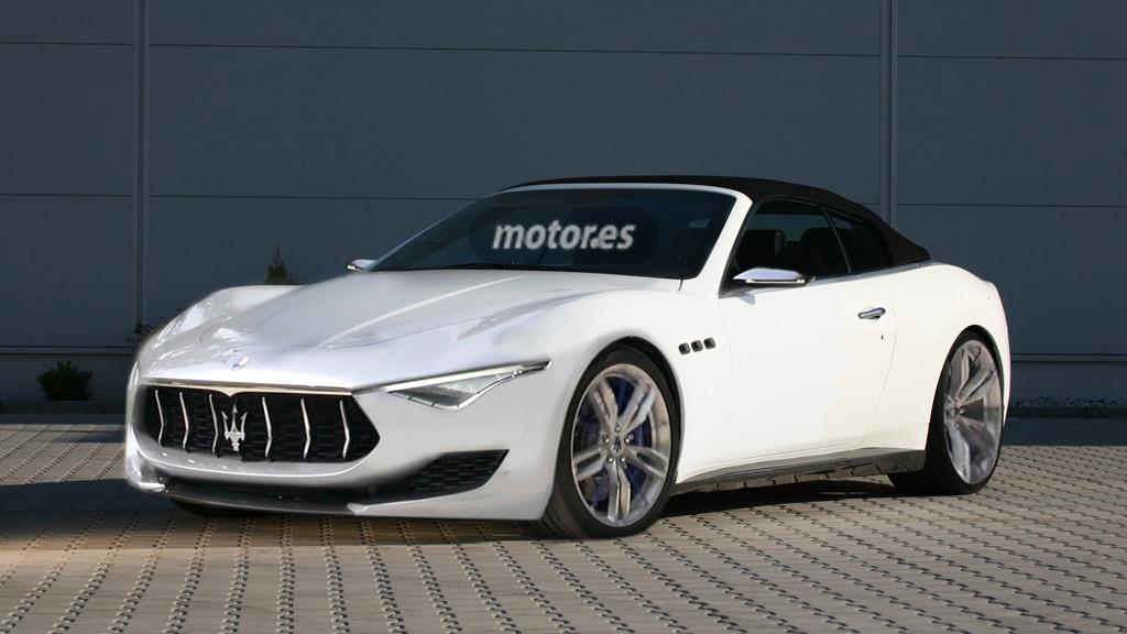 Maserati Alfieri Cabrio Y Coup 233 Para 2016 Con Motores V6