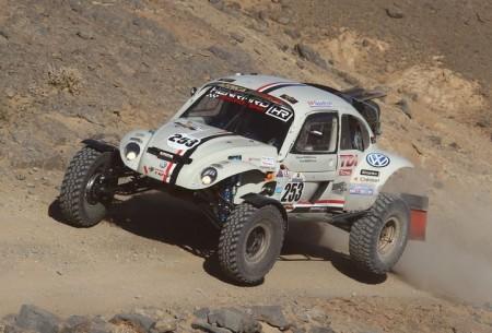 Al Rally Dakar 2015 con un VW Beetle escarabajo