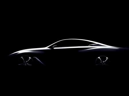 Infiniti Q60 Concept, primer teaser del nuevo producto japonés