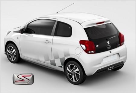 Peugeot 108 Ligne S, más deportividad y personalización para el pequeño francés