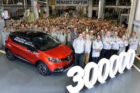El Renault Captur número 300.000 es fabricado en Valladolid