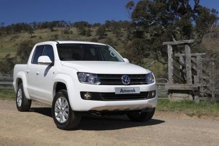 Argentina - Noviembre 2014: El Volkswagen Amarok entra en el Top 10