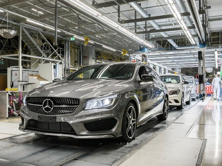 Arranca la producción del Mercedes CLA Shooting Brake