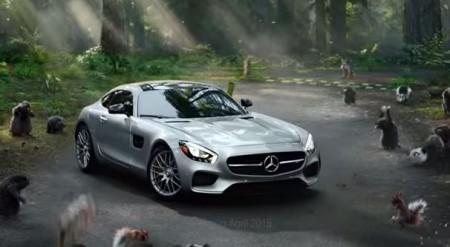 El Mercedes AMG GT, entre los anuncios de la Super Bowl 2015