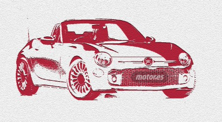 Fiat 124 Spider, ¿124 Coupé?, bocetos, patentes y primeros datos