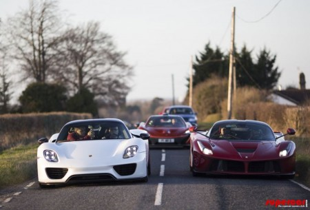 Así se recogen dos millones de euros en coches en un solo día