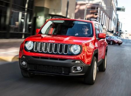 Italia - Diciembre 2014: El Jeep Renegade roza el Top 10