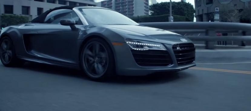 El Audi R8 de '50 Sombras de Grey', en vídeo