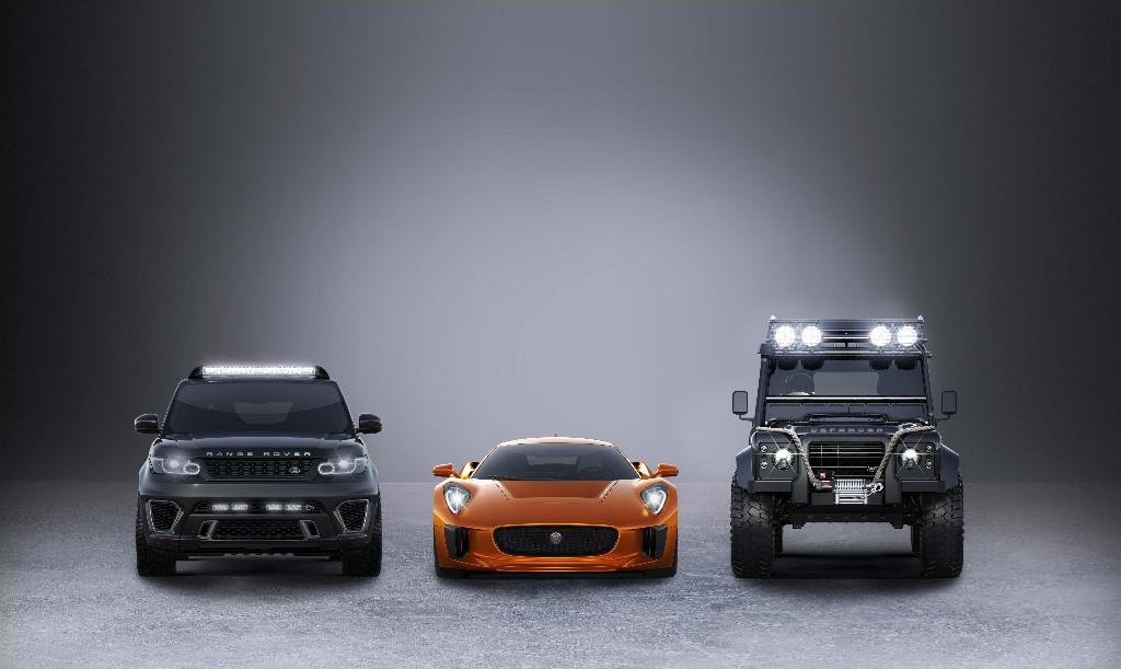 Así son los Jaguar y Land Rover de 'Spectre', la nueva película de James Bond