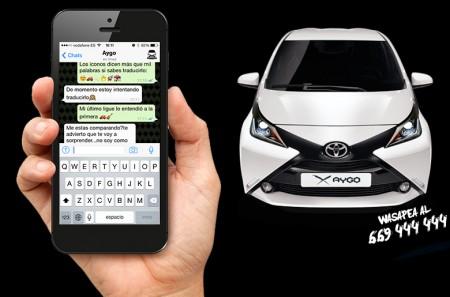 Lígate un Toyota AYGO y llévatelo a casa