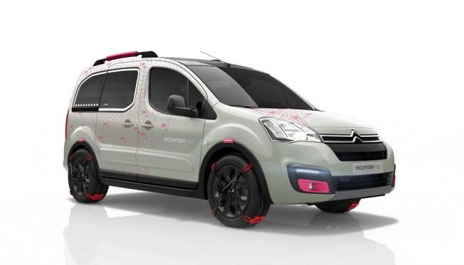Citroën Berlingo Mountain Vibe Concept, una edición muy aventurera