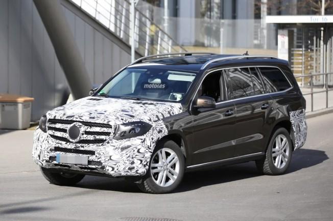 Fotos espía: Mercedes Benz GLS 2016, el SUV más grande de ...