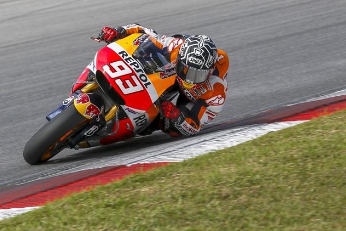 Récord de Marc Márquez para terminar los primeros test de MotoGP en Sepang