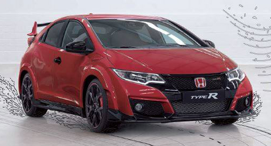 honda civic type r m s im genes filtradas. Black Bedroom Furniture Sets. Home Design Ideas