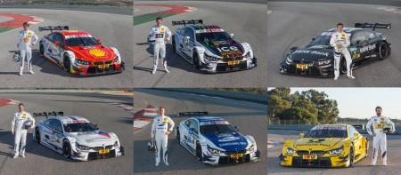 Los BMW M4 DTM para la temporada 2015
