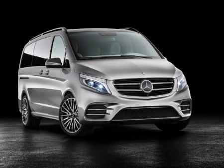 Mercedes V-ision e Concept, la Clase V se vuelve ecológica