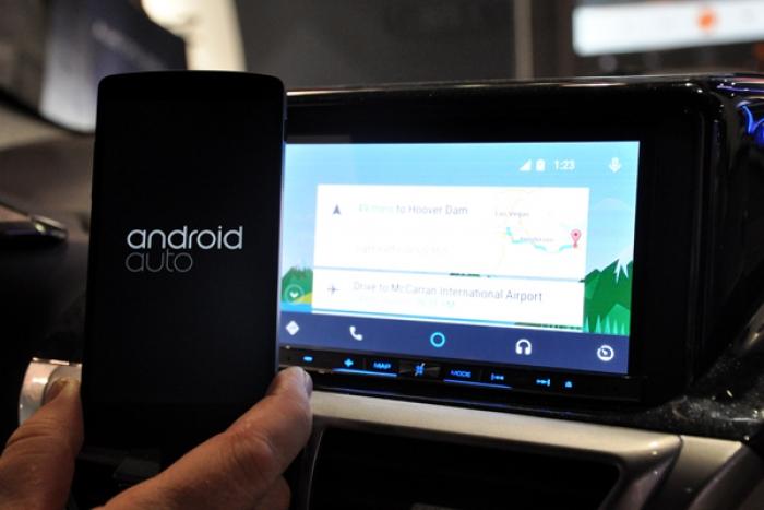 pioneer nos trae android auto a nuestros coches. Black Bedroom Furniture Sets. Home Design Ideas