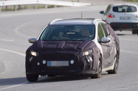 El Kia Ceed Sportswagon 2016 de pruebas en España
