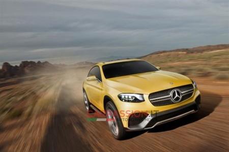 Mercedes GLC Coupe Concept, descúbrelo en sus primeras imágenes
