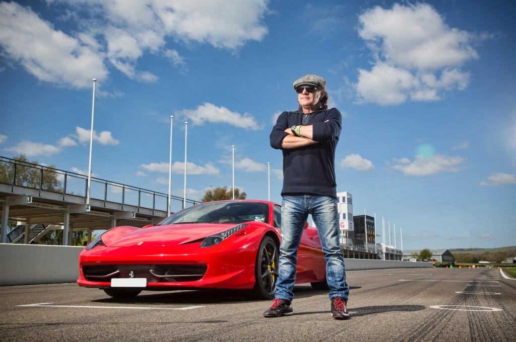Ac Fan Motor >> La exclusiva colección de coches de Brian Johnson ...