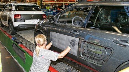 La fábrica de Villaverde ampliará la producción del Citroën C4 Cactus