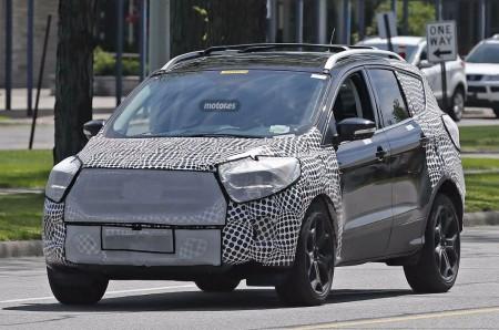 El Ford Kuga 2017 ya empieza sus pruebas