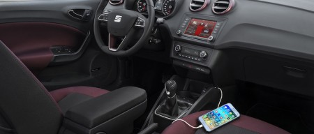 Seat Ibiza 2015: sistema Full Link con compatibilidad Android Auto y Apple CarPlay