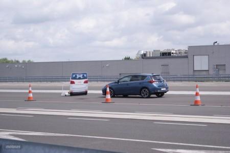 Probamos el sistema precolisión del Nuevo Toyota Auris