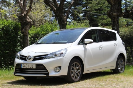 Toyota Verso 115D Advance 7 Plazas: Interior y exterior (II)