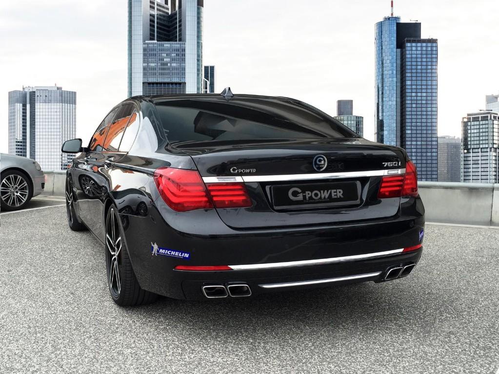 Tuning BMW 760i Por G Power Despedida De La Generacion F01