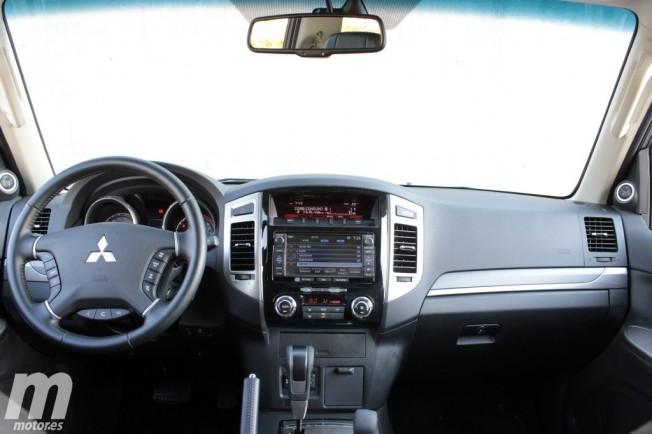 Prueba: Mitsubishi Montero 3 Puertas Kaiteki: Exterior e interior