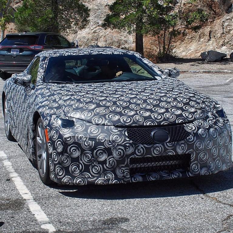 Fotos espía: El Lexus LF-LC de producción se pasea por las calles de Estados Unidos