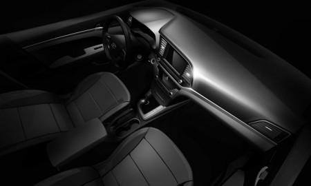 Hyundai Elantra 2016, primera imagen oficial de su interior