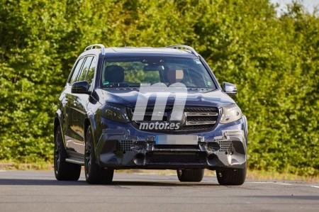 Mercedes GLS 63 AMG, primeras imágenes