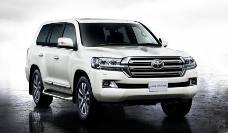 Toyota Land Cruiser 200, restyling presentado en Japón