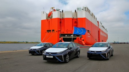 Los primeros Toyota Mirai llegan a Europa