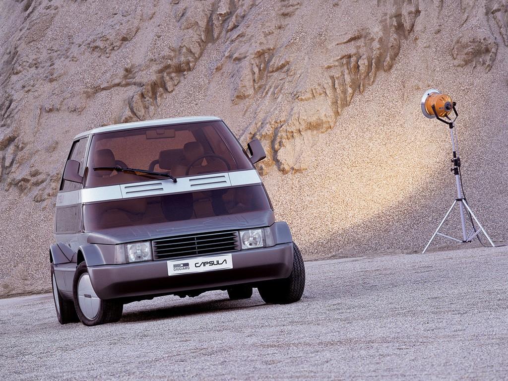 Coches Rarunos: Italdesign Capsula, todos los coches en uno - Motor.es