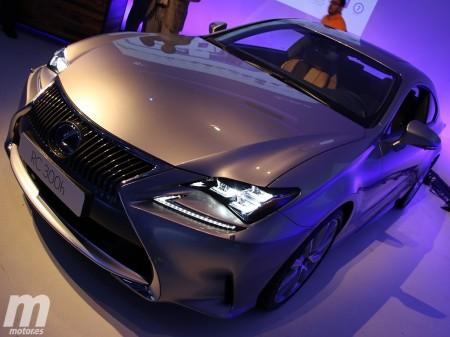 A la venta el Lexus RC 300h, el hermano ecológico del RC F