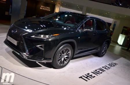 El Lexus RX 2016 en 5 cifras clave