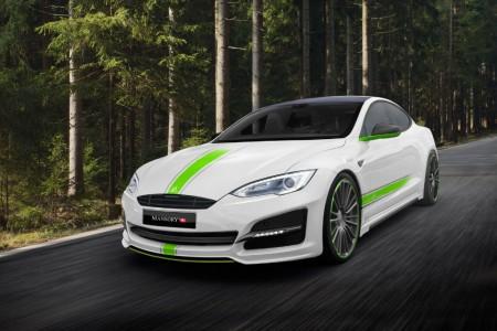 Mansory también se atreve con los eléctricos: este es su Tesla Model S