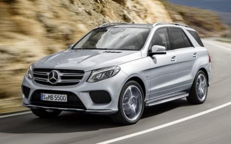Estados Unidos - Agosto 2015: El Mercedes GLE hace su debut