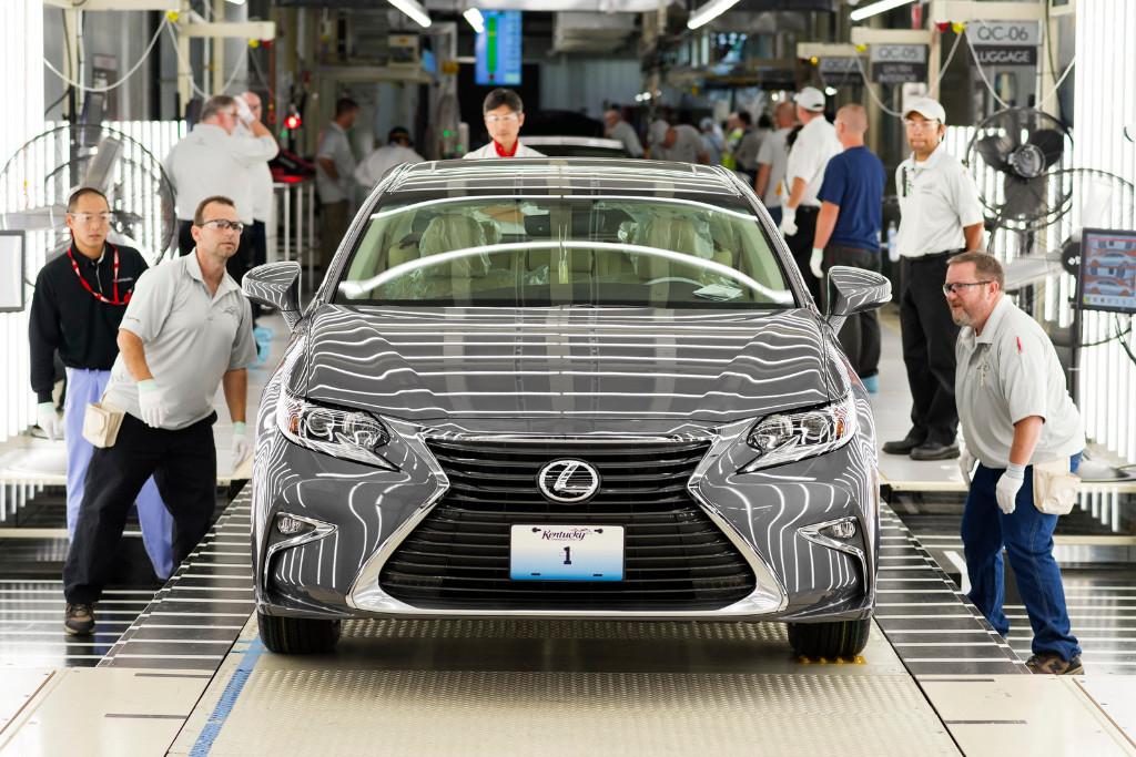 Lexus Is 350 >> Lexus ya fabrica los ES en Estados Unidos - Motor.es