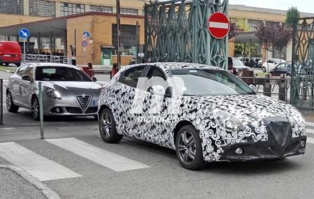 """Alfa Giulietta 2016, su """"restyling"""" con nuevo frontal sigue en pruebas"""