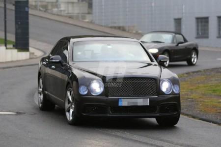 Bentley Mulsanne 2016, pequeños cambios que están por llegar