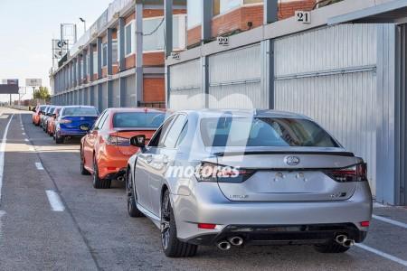 ¿Qué hace esta flota de Lexus GS F en el Jarama?