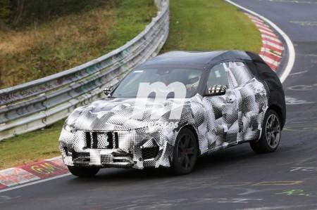 El Maserati Levante 2017 avistado en Nurburgring